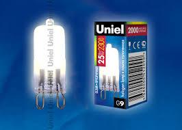 <b>Лампа JCD</b>-<b>CL</b>-<b>25</b>/<b>G9 Uniel</b>: продажа, цена в Москве. <b>лампочки</b> от ...