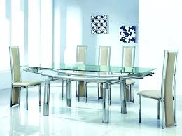 glass kitchen table set nice luxury glass top dining tables chair modern round glass dining table