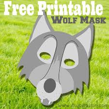 This product is available worldwide. Free Printable Wolf Mask Template Itsybitsyfun Com