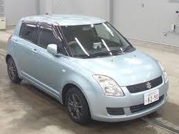 Suzuki Swift Ocean Light Blue Japan Used Cars Korea Used Cars Used Cars Exporter Blauda