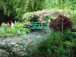Lawn & Garden:Monet Japanese Bridge With Natural Vines As Canopy Idea Monet Japanese  Bridge