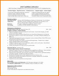 Resume Format Experienced Technical Support Engineer Therpgmovie