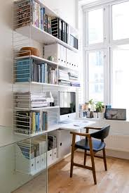 home office solution. The Perfect Home Office Solution Has To Be Timeless String Shelf System