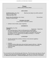How To Write A College Resume College Resume Amazing How To Write A Resume Pomona College In 1