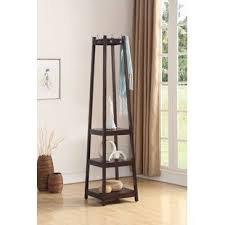 Wooden Coat Rack With Storage Rustic Coat Racks Coat Hooks Birch Lane 54