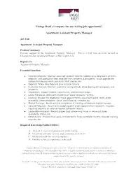 Sample Resume Property Manager Gallery Of Real Estate Agent Resumes