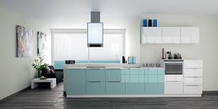 Re Laminate Kitchen Doors Blue High Gloss Kitchen Doors Cliff Kitchen