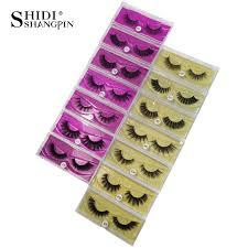 Hot Deal #21d3 - <b>SHIDISHANGPIN</b> 1 <b>Pair Mink</b> Eyelashes False ...