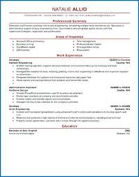 Resume Examples Secretary | Nfcnbarroom.com