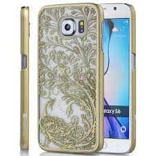 samsung galaxy s6 gold case. buy samsung galaxy s6 case - greatshield [damask] tact peacock design slim fit hard cover for gold in cheap price on alibaba.com l
