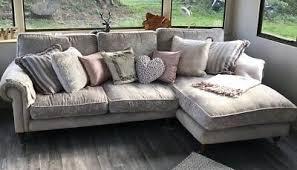 LAURA ASHLEY KINGSTON 'villandry grey' 3 seater corner sofa - £330.56    PicClick UK