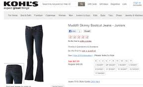 Mudd Jeans From Kohls Jean Therapy