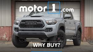 Why Buy? | 2017 Toyota Tacoma TRD Pro Review - YouTube