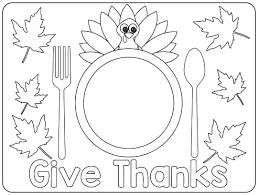 These can easily be laminated for continued use, especially if you plan on using them in the classroom, just use. 5 Best Thanksgiving Placemat Printables Printablee Com
