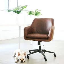 mid century modern office chair. Antique Desk Modern Chair Bronze Leather Molasses Mid Century Office I