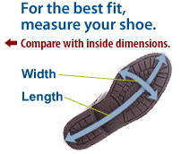 Neos Overshoes Size Chart Neos Overshoe Size Chart