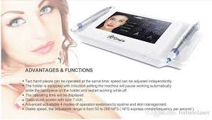 high quality professional new 2017 touch screen semi permanent makeup machine v8 with 2 pens beauty permanent makeup permanent augenbrauen maquillage