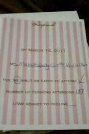 How To Reply To Wedding Rsvp Card What You Should And Absolutely Shouldnt Include On Your