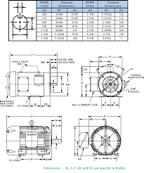 Nema Reference Chart Electric Motors Product Guides