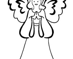 Small Picture Angel Coloring Pages To Print Angel Coloring Pages In Christmas