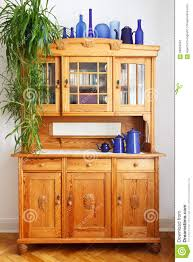 Pine Kitchen Cupboard Doors Vintage Pine Kitchen Cupboard Vases Stock Photo Image 56856042