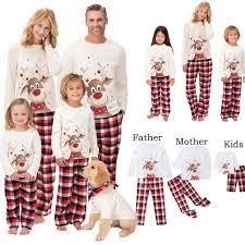 Christmas Pajamas <b>Family</b> Matching Clothes Set - Zween Shop