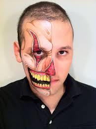evil clown halloween face paint halloween clown makeup