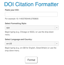 Datacite Citation Formatter