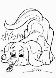 Small Picture Dog coloring pages for kids prinable free dog printables online