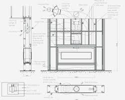 fireplace insert insulation inspirational how to make a gas fireplace baffles insulation break up sound gas