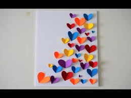 diy wall decoration ideas color paper wall hanging arts and craft using paper