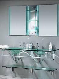 Glass For Bathroom Bathroom Glass Shelving Unit