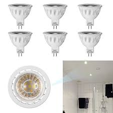 track lighting replacement. (Pack Of 6) LESHP MR16 LED Spotlight Recessed Landscape Track Lighting  Flood Bulbs Bi Track Lighting Replacement