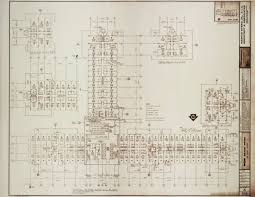 UNLV Libraries Digital Collections Architectural Drawing For MGM Mgm Grand Las Vegas Floor Plan