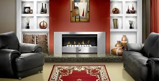 flue less gas fireplaces