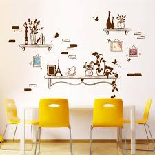 well proportioned picture frames wall art decal sticker living room background wall sticker decor diy home decoration wallpaper wall decal vinyl wall decals  on wall art decoration vinyl decal sticker with well proportioned picture frames wall art decal sticker living room
