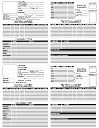 pokemon tabletop character sheet reworked character sheet
