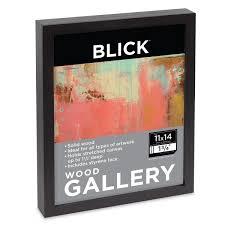 wood gallery frame black