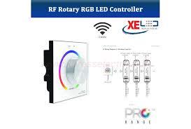 xe dx series dx63 dmx rf 2 4gz rgb wall mount colour controller 230v