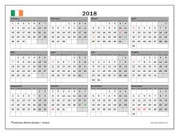 write in calendar 2018 2018 calendar ireland free download happy new year 2018 images