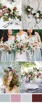 Six Pretty Mauve Wedding Color Combos for All Brides