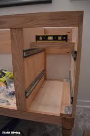 building a bathroom vanity. Build A Diy Bathroom Vanity Drawers Cabinet Building