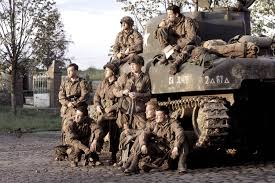 the beginning of band of brothers as a primer on good military  the cast of the hbo miniseries band of brothers hbo via getty