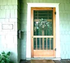 front screen doors screen door installation screen door installation storm doors s storm door installation