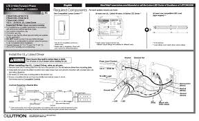 diode led lutron hi lume lte user manual 6 pages  Lutron Hi Lume A Series Wiring Diagram #21