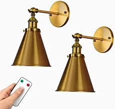 Battery operated wall sconce you can install anywhere in your home. Amazon Com Battery Operated Lights Wall Lamps Sconces Wall Lights Tools Home Improvement