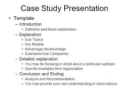 presentation introduction template an easy presentation example to  presentation introduction template online writing lab writing a case study introduction ideas