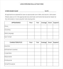 Employer Interview Checklist Interview Agenda Template Templates 7 Free Word Format Download New