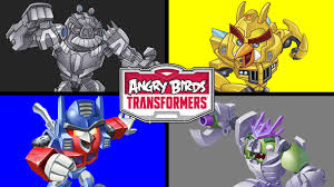 Small Picture LEARN COLORS WITH ANGRY BIRDS TRANSFORMERS Colours for Kids