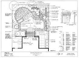 landscape architecture blueprints. Beautiful Architecture San Francisco Garden Plan Design  For Landscape Architecture Blueprints Y